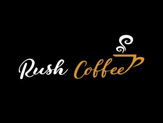 Rush Coffee logo design by samueljho