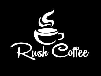 Rush Coffee logo design by gilkkj