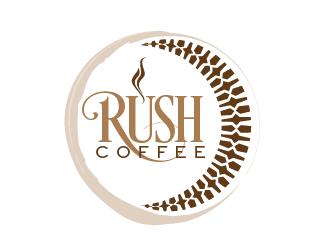 Rush Coffee logo design by mmyousuf