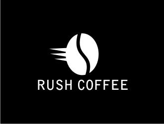 Rush Coffee logo design by revi
