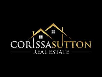 Corissa Sutton Real Estate logo design
