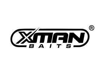 Xman   Baits logo design