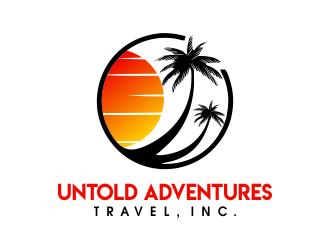 Untold Adventures Travel, Inc. logo design