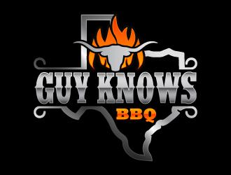 Guy Knows BBQ logo design