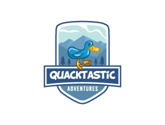 Quacktastic Adventures logo design