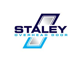 Staley Overhead Door logo design by MUSANG