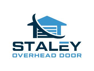Staley Overhead Door logo design by akilis13
