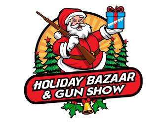 HoHo Gifts & Guns Expo 2020 logo design