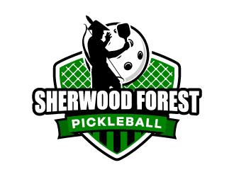 Sherwood Forest Pickleball logo design