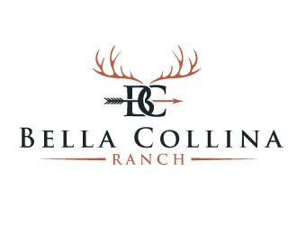 Bella Collina Ranch  ( Italian name for Beautiful Hills ) logo design