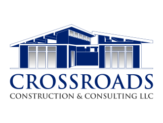Crossroads Construction and Consulting LLC logo design