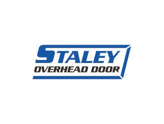 Staley Overhead Door logo design by Zeratu