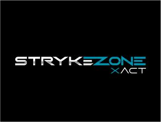 Stryke Zone logo design