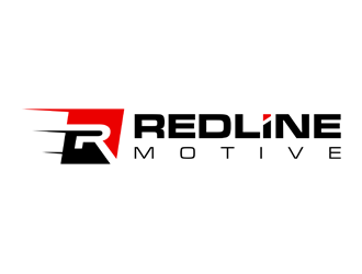 Redline Motive logo design