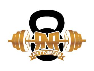 RnR Fitness logo design
