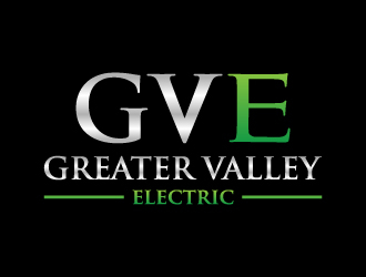 Greater Valley Electric (GVE) logo design