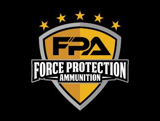 FORCE PROTECTION AMMUNITION logo design