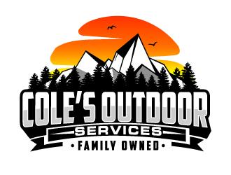 Coles Outdoor Services logo design