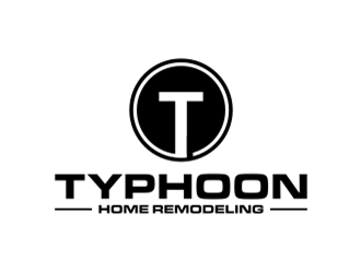 Typhoon Home Remodeling  logo design by sheila valencia