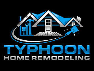 Typhoon Home Remodeling  logo design by agus