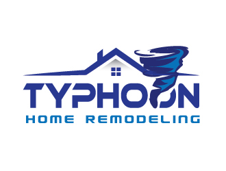 Typhoon Home Remodeling  logo design by il-in