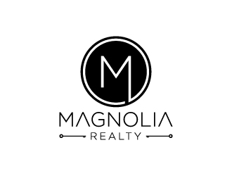 Magnolia Realty logo design