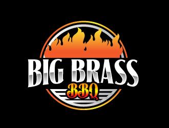 Big Brass BBQ logo design by AamirKhan