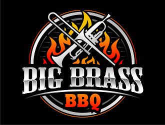Big Brass BBQ logo design by haze