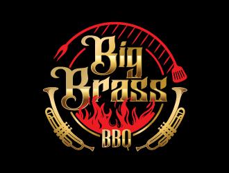 Big Brass BBQ logo design by dgawand
