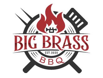 Big Brass BBQ logo design by akilis13