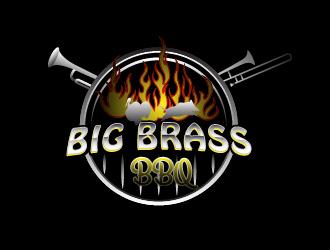 Big Brass BBQ logo design by chumberarto