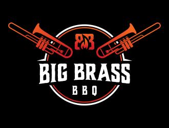 Big Brass BBQ logo design by grafisart2