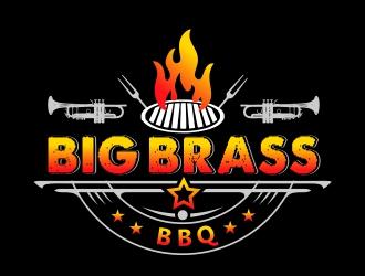 Big Brass BBQ logo design by AnandArts