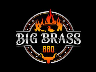 Big Brass BBQ logo design by evdesign