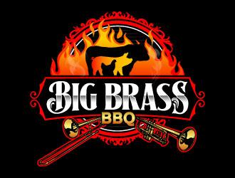 Big Brass BBQ logo design by daywalker