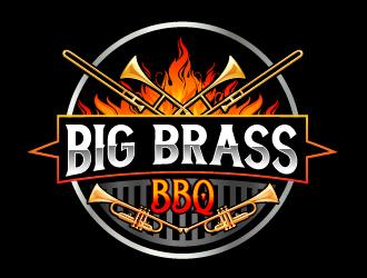 Big Brass BBQ logo design by axel182