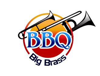 Big Brass BBQ logo design by Suvendu