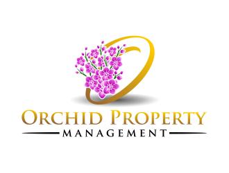 Orchid Property Management logo design