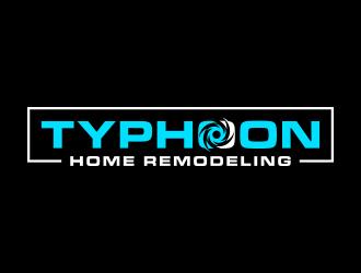 Typhoon Home Remodeling  logo design by lexipej