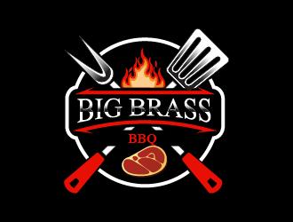 Big Brass BBQ logo design by czars