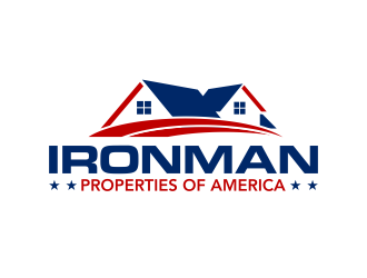 Ironman Properties of America  logo design