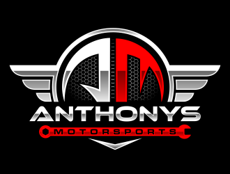 Anthonys Motorsports logo design
