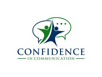 Confidence In Communication logo design