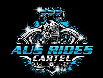 AUS RIDES CARTEL logo design