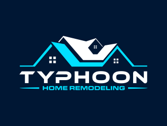 Typhoon Home Remodeling  logo design by GassPoll