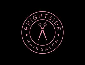 Brightside Hair Salon logo design