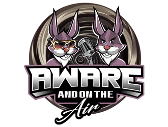 Aware and on the Hare logo design