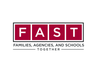 Families, Agencies, and Schools Together (FAST) logo design