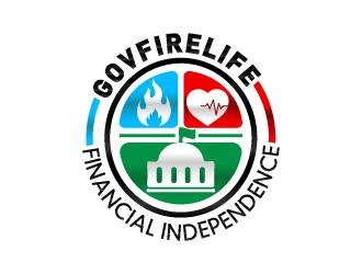 GOVFIRELIFE.com logo design