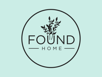 Found Home Logo Design